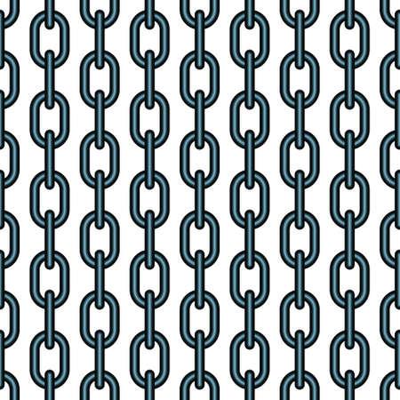catenation: Seamless pattern of the chain