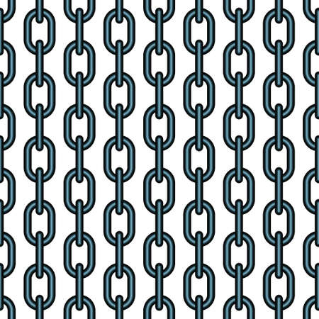 Seamless pattern of the chain