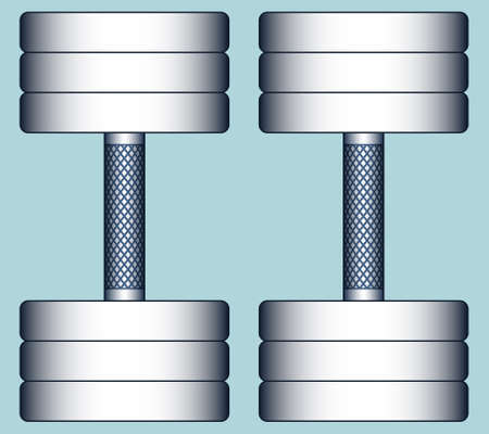 twain: Illustration of the composite dumbbells Illustration