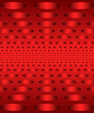 Abstract background and perforated surface ornament