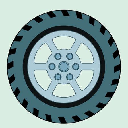 casing: Illustration of the wheel icon