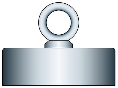 affixment: Illustration of the weight with ring bolt