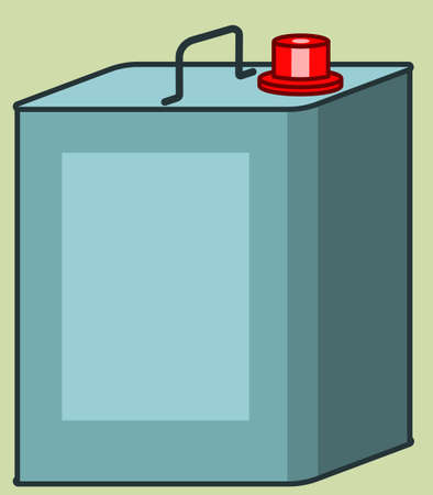 canister: Illustration of the canister icon Illustration