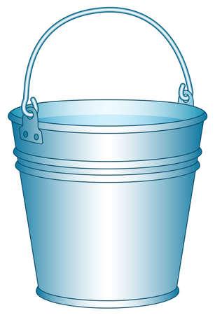 Illustration of the bucket icon Illustration
