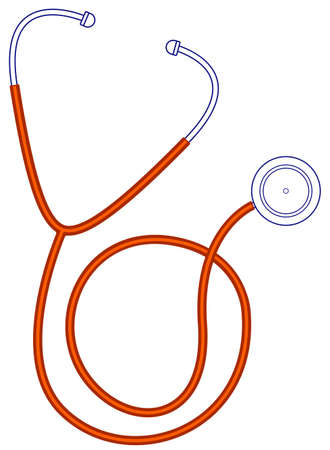 transducer: Illustration of the medical stethoscope icon