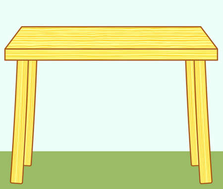 tabletop: Illustration of the wooden table icon