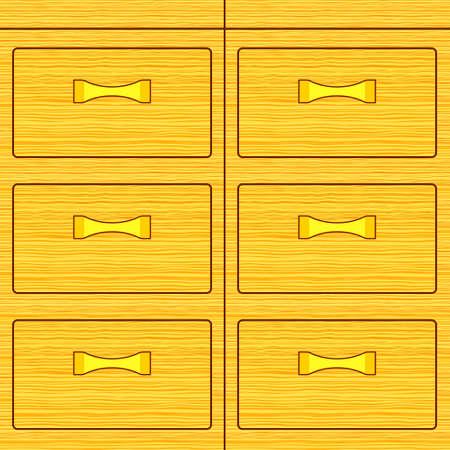 dresser: Illustration of the wooden dresser box icon