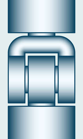 catenation: Illustration of the hinge joint icon
