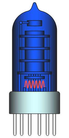radio unit: Illustration of the radio valve icon