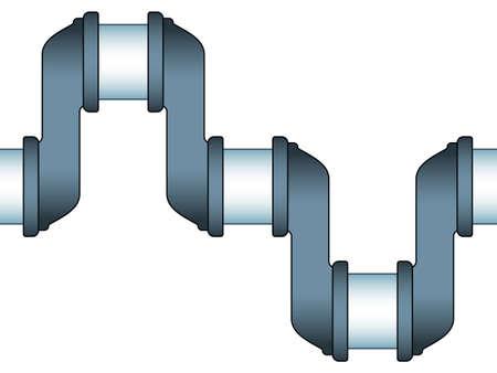 crankshaft: Illustration of the seamless engine crankshaft icon Illustration