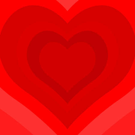 holyday: Illustration of the concept heart symbol