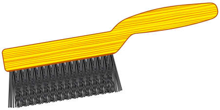 Illustration of the wire brush tool icon
