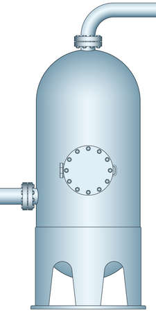 separator: Illustration of the gas and liquid separator
