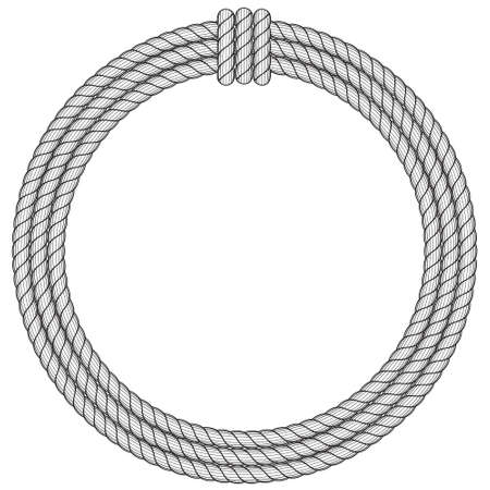 Illustration of the rope hank icon