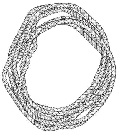 Illustration of the rope skein