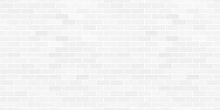 brickwalls: Seamless pattern of the abstract white brick wall