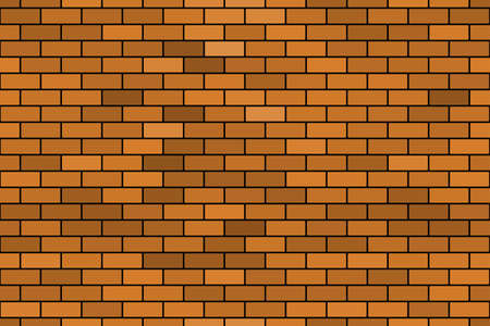 bricklaying: Seamless pattern of the abstract brick wall