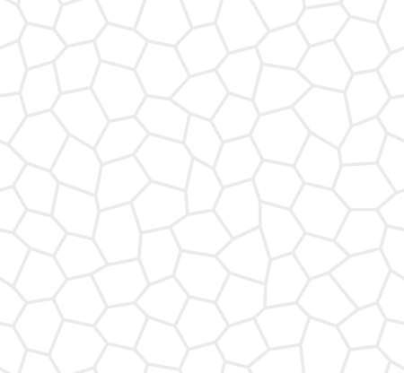ゆがんだ白い六角形のシームレス パターン