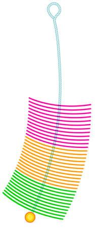 Illustration of the bristle brush icon Illustration