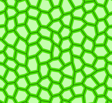 Abstract seamless pattern of the warped hexagon shapes