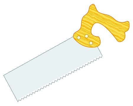 Illustration of the hand saw tool icon