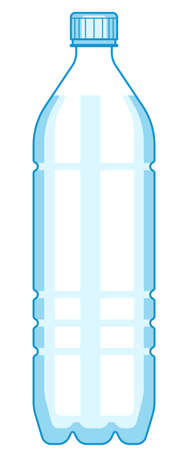 Illustration of the plastic bottle icon Stok Fotoğraf - 88314511