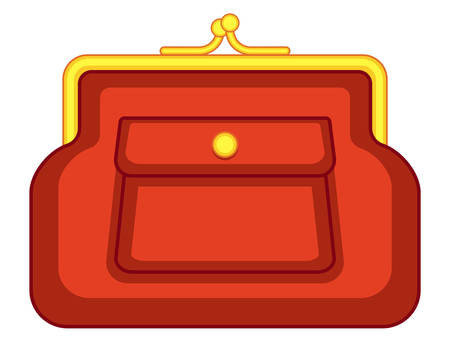billfold: Illustration of the change purse icon