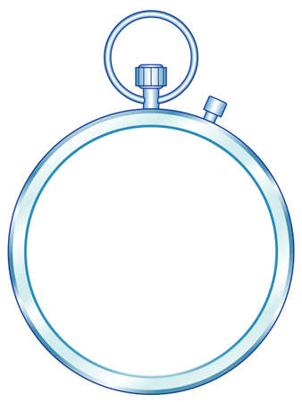 Illustration of the concept stopwatch icon Illustration