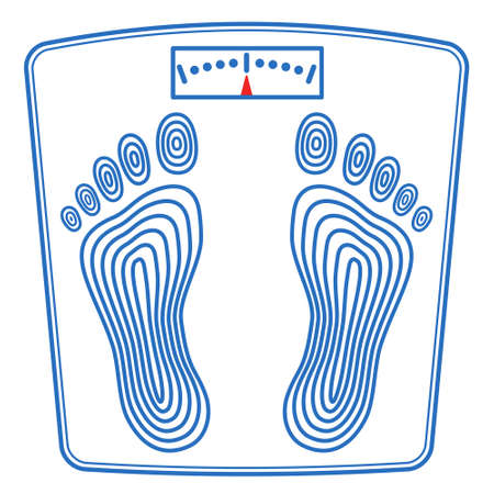 Illustration of the floor scales icon