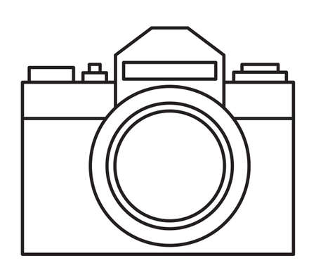 Illustration of the minimalist photographic camera