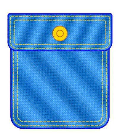 Illustration of the denim pocket icon