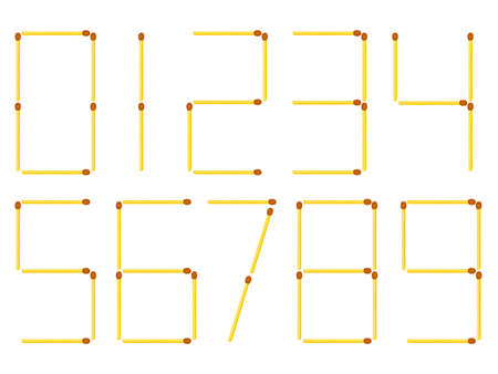 Illustration of the number figures of matches