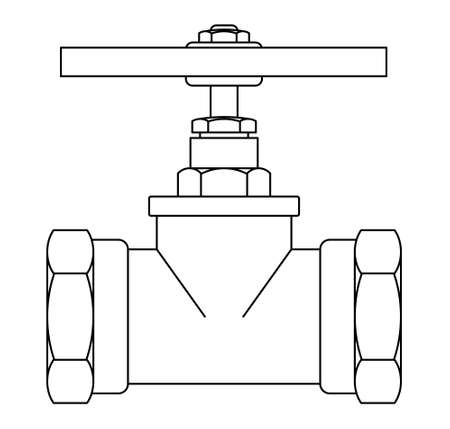 Illustration of the contour faucet tool