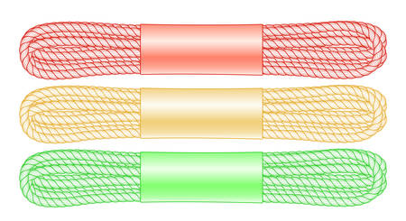 Illustration of the rope bandle set