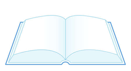 Illustration of the open book icon