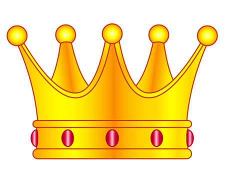 Illustration of the royal crown icon