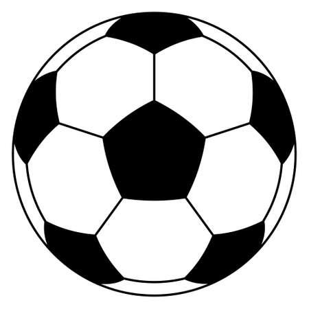Illustration of the soccer ball