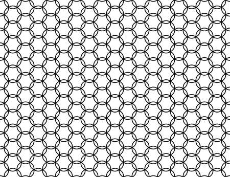Seamless pattern of the abstract hexagonal netting