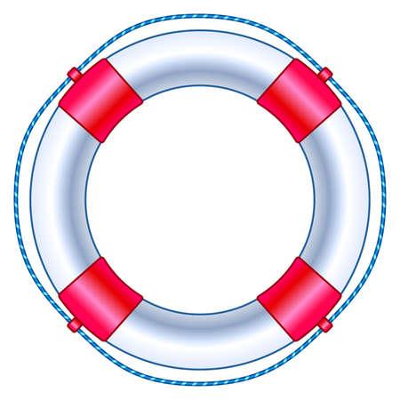 Illustration des Rettungsringsymbols