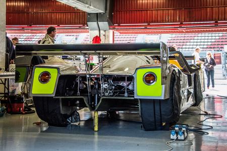 MERCEDES C11 in Circuit de Barcelona, ??Catalonia, Spain.