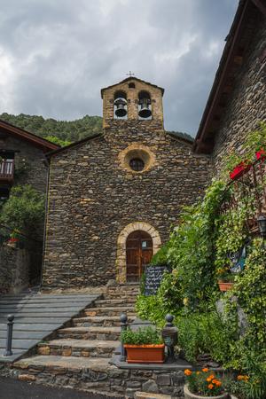 Photo of Sant Sernide Llorts, old village in Andorra.