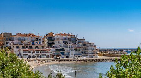 Village of Roc de Sant Gaieta in Tarragona, Catalonia, Spain.