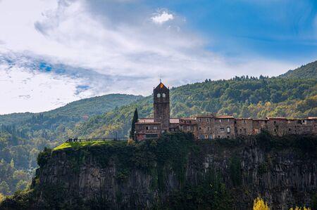 Castellfollit de la Roca in Girona, Catalonia, Spain