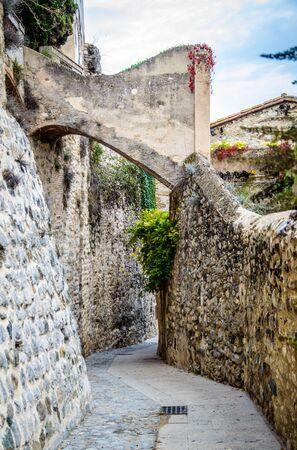 Besalu medieval village in Girona, Catalonia, Spain