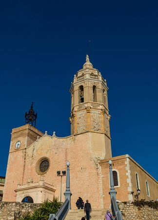 Landmark of Sitges in Barcelona, Catalonia, Spain