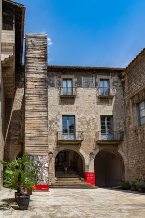 Museum of Girona in Catalonia, Spain