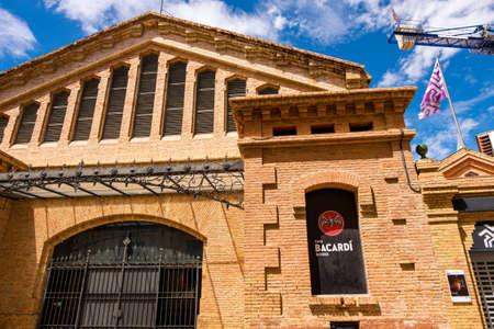 Landmarks of Sitges in Barcelona, Catalonia, Spain
