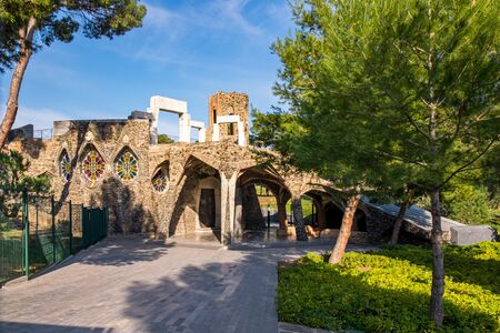Colonia Guell in Barcelona, Catalonia, Spain
