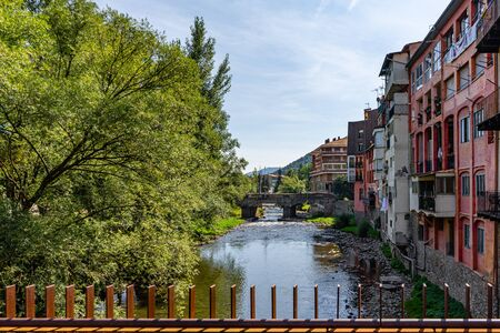 Ripoll town in Catalonia, Spain