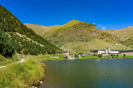 Vall de Nuria in the Catalan Pyrenees, Spain.